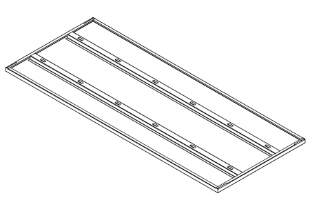 Middle Shelf for MasterCraft Model 68-7305