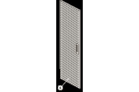 68-0667 Single Door