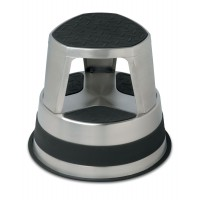 Stainless Steel Rolling Step Stool-17025J